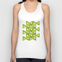 illusion Tank Tops featuring Illusion by Isometric
