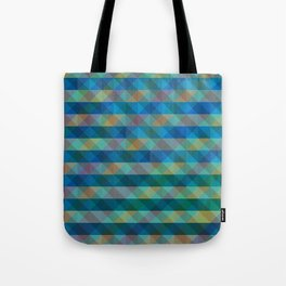 Background Overlap Tote Bag
