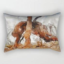 Horror of War, World War One Rectangular Pillow