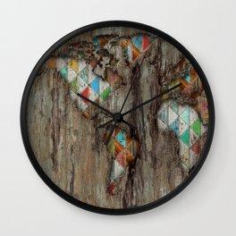 My Geometric World Wall Clock