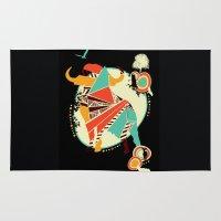buffalo Area & Throw Rugs featuring Buffalo by Dimitra Tzanos