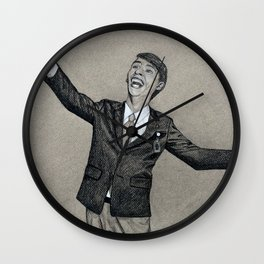 30 Rock Fan Art Wall Clock