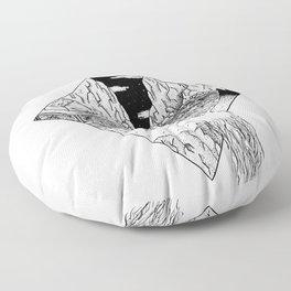 Lake House Floor Pillow