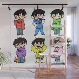 Mr Osomatsu Wall Mural