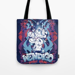 WENDIGO Spirit Drum Tote Bag