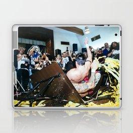 Chuck Taylor and Ricochet crash through a table Laptop & iPad Skin
