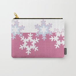 New year , snowflakes Carry-All Pouch