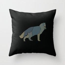 Magic Fox Throw Pillow