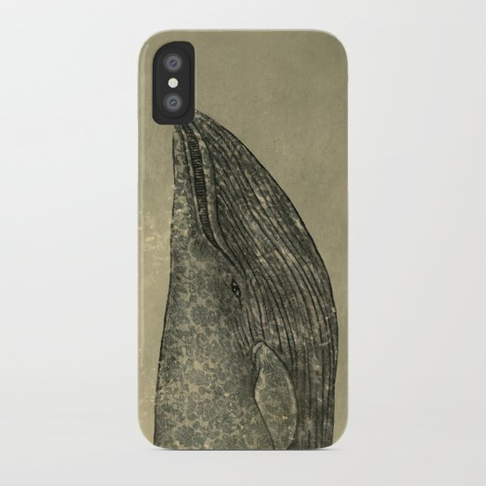 Damask Whale  iPhone Case