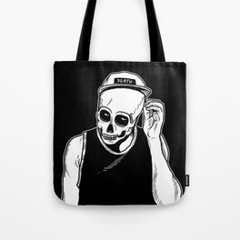 dead cozy boy Tote Bag