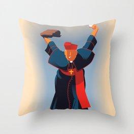 Cardinals Baseball Throw Pillow