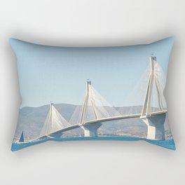 Rio Antirrio Bridge Rectangular Pillow