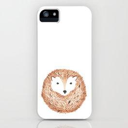 Hérisson. iPhone Case