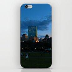 Boston Common Sunset iPhone & iPod Skin