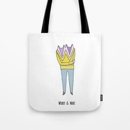 Worry & Wart Tote Bag