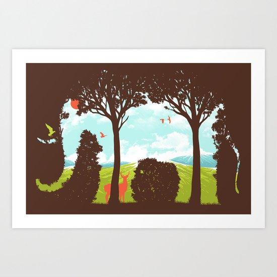 A Great Escape Art Print