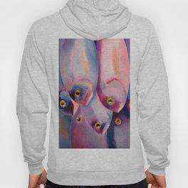 Violet Fish Hoody