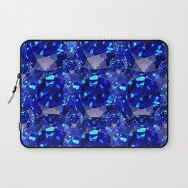 BLUE SAPPHIRES GEM BIRTHSTONE Laptop Sleeve