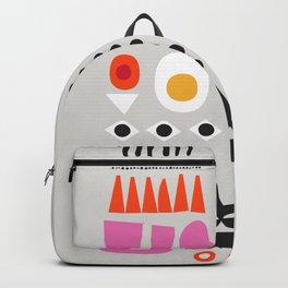 Contemporary Abstract Giclee Print, Minimalist Wall Art, Fine Art Print,  Scandi Wall Art, New Home Backpack