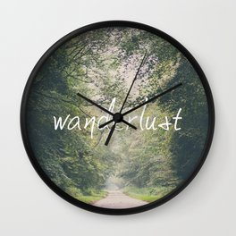 wanderlust ... Wall Clock