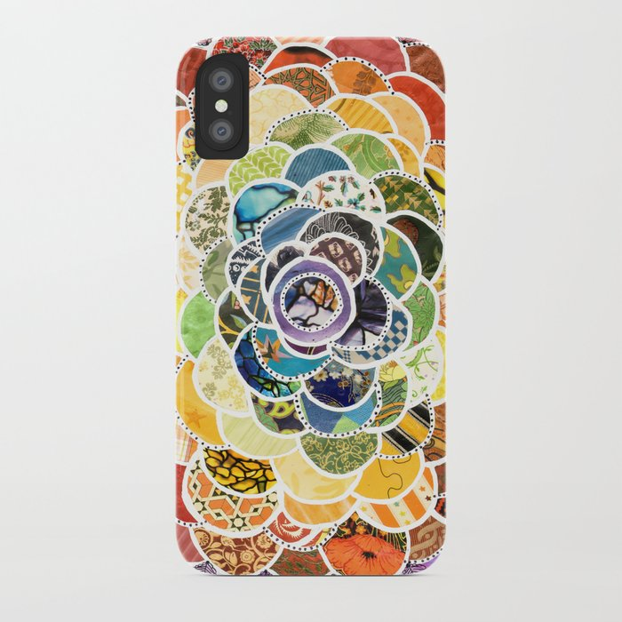 Rainbowbloom iPhone Case