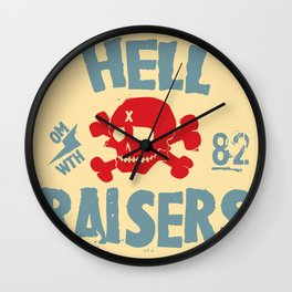 Hell Raisers Wall Clock