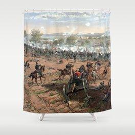 The Battle of Gettysburg Shower Curtain