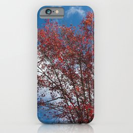 Menominee Red iPhone Case