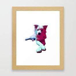 My Mister Ladypose Framed Art Print