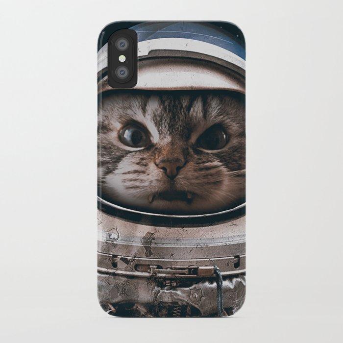 Space catet iPhone Case