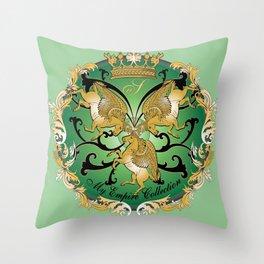 My Empire Collection Summer Set mint green Throw Pillow