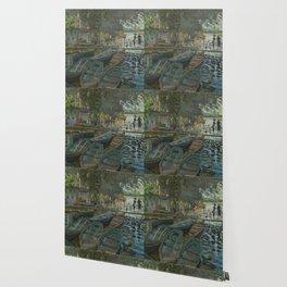Claude Monet - Bathers at La Grenouillère Wallpaper