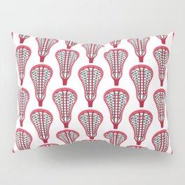 Girls'/Women's Lacrosse Sticks - Red Pillow Sham