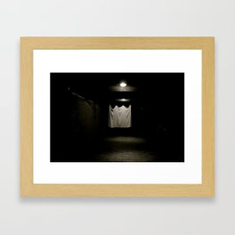 Lonely Sheet Framed Art Print