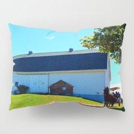 Carriage Ride Through Time Pillow Sham