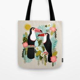 Toucans by Andrea Lauren  Tote Bag