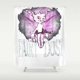 Evil Fairy Dust Halloween Party Shirt Shower Curtain