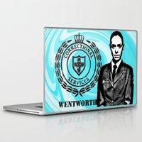tits Laptop & iPad Skins featuring Vera Vinegar-tits Bennett by SwanniePhotoArt