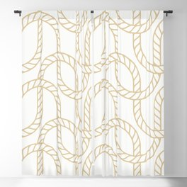 Marina Gold Blackout Curtain