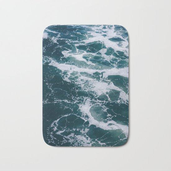 Ocean Marble #texture Bath Mat