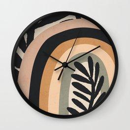 Abstract Art Rainbow 2 Wall Clock