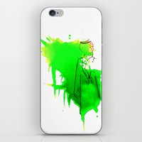 sword iPhone & iPod Skins featuring Sword Dance by Noura Bouzo