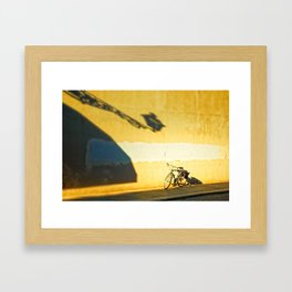 Reaching you Framed Art Print