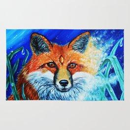 Red Fox Spirit Rug