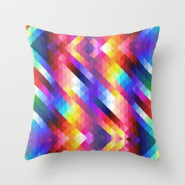 HIPSTER GEOMETRY Throw Pillow