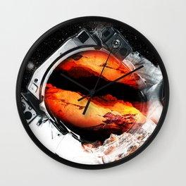 Mars Odyssey 2016 Wall Clock