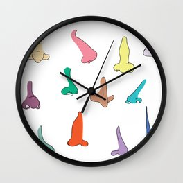 Smells like noses Wall Clock
