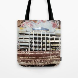 Chevy Truck Grill, Truck, Chevrolet, Old Chevy Tote Bag
