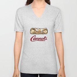 Cannoli Unisex V-Neck