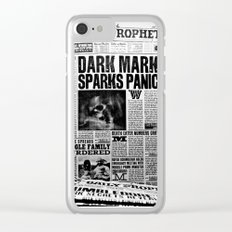 Daily Prophet newspaper Clear iPhone Case